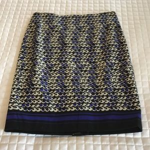 NWT Ann Taylor Petite 0 Pencil Skirt